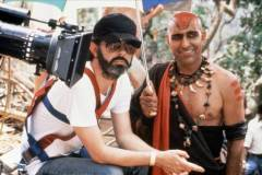 Steven Spielberg, Amrish Puri - INDIANA JONES AND THE TEMPLE OF THE DOOM (1984)