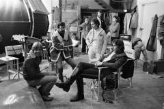 Mark Hamill, George Lucas, Carrie Fisher, Harrison Ford - STAR WARS (1977)